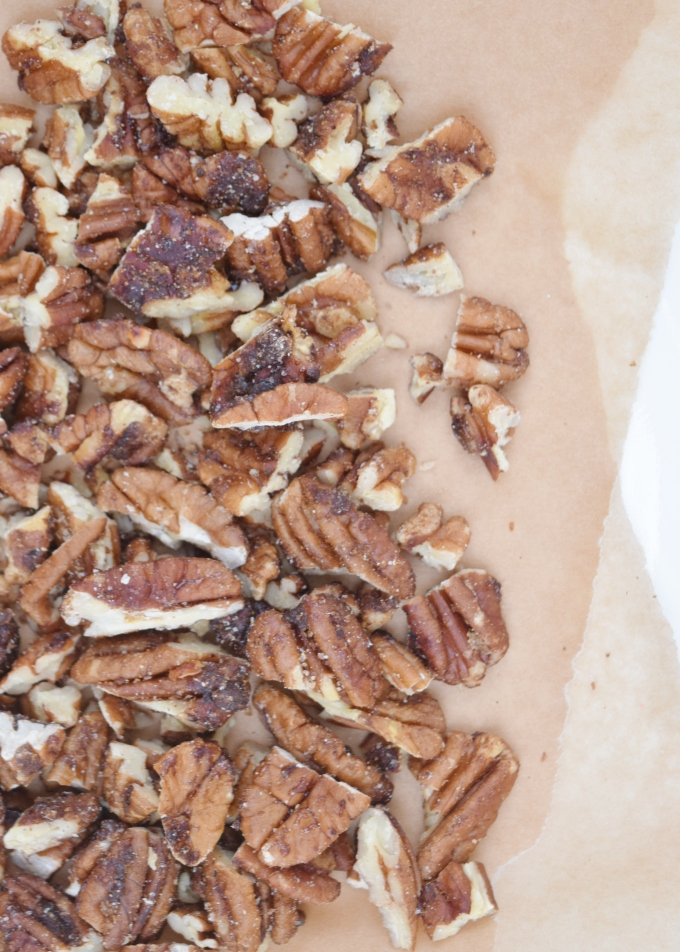 Cinnamon Maple RoastedPecans